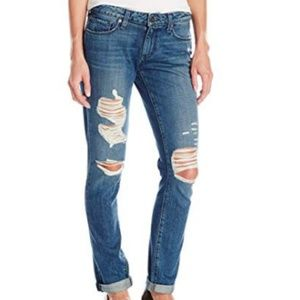 PAIGE Denim Destroyed Jimmy Skinny Jeans, 25